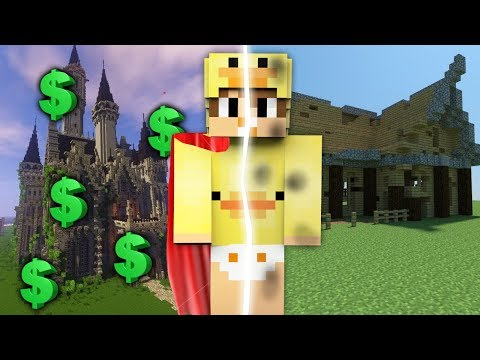 Minecraft Portal || HOW TO PORTAL TO A RICH WORLD vs A POOR WORLD!!