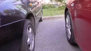 Как парковать автомобиль в дворовой зоне.(, 2015-10-04T18:16:27.000Z)