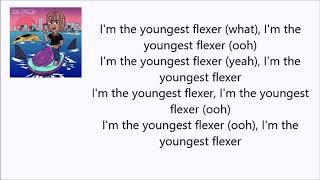 Lil Pump - Youngest Flexer ft. Gucci Mane (Lyrics Video)