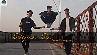 Dhyan De ft.Emiway || Hip Hop Dance Choreography || Step movers crew