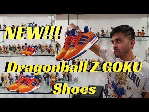 1d563f96f NEW GOKU ADIDAS ORIGINALS DRAGONBALL Z SNEAKERS!!! Must see Review + On Feet