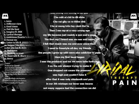 9- Letter to life - Pain Ft. JGKID (Long version)