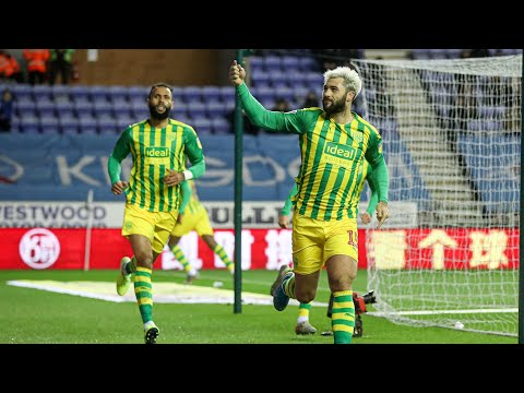Wigan Athletic v West Bromwich Albion highlights