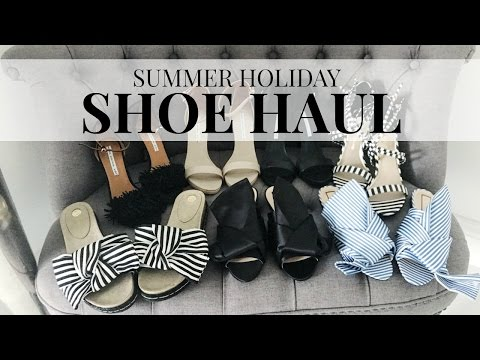 SUMMER HOLIDAY SHOE HAUL | IAM CHOUQUETTE