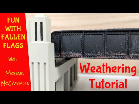 FwFF #30 HOW-TO Weathering Walthers Art Deco Underpass