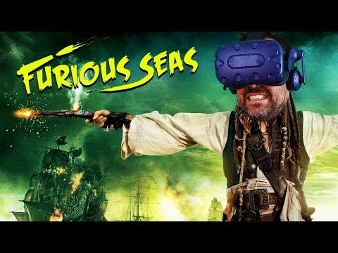 JUGANDO A PIRATAS DEL CARIBE VIRTUAL | Furious Seas VR