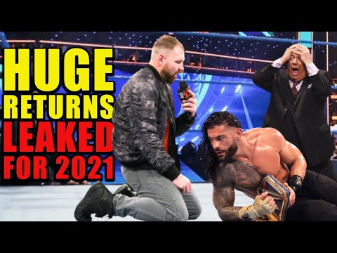 Why Is Dean Ambrose Returning & Attacking Roman Reigns? 10 Huge WWE Returns Leaked For 2021