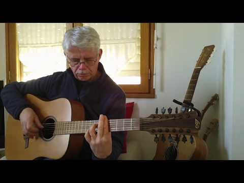 12 String Guitar  Fingerstyle  Tab   The House Of The Rising Sun