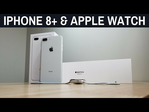 iPhone 8 Plus & Apple Watch Series 3: Stupid Long Unboxing and First Impressions After 24 Hours!