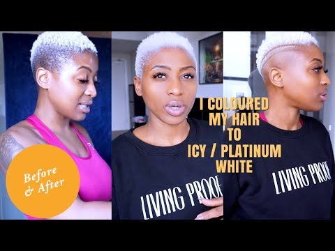 HOW TO LIGHTEN HAIR TO ICY WHITE / PLATINUM  | UPDATED ...