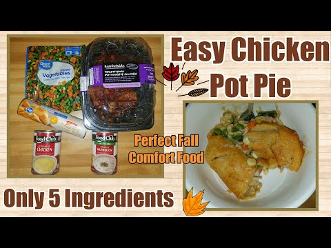 Easy Chicken Pot Pie♡5 Ingredients♡Collab With Madison Pippins