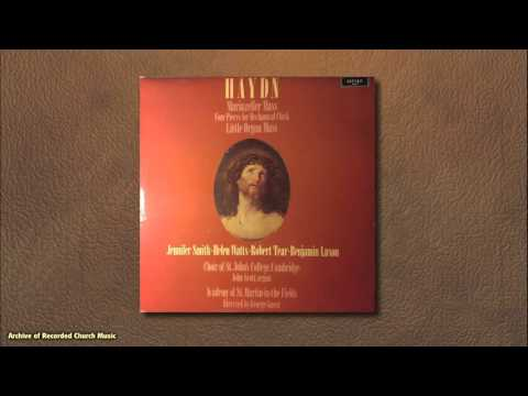 "Haydn's ""Little Organ Mass"": St John's  Cambridge 1978 (George Guest)"