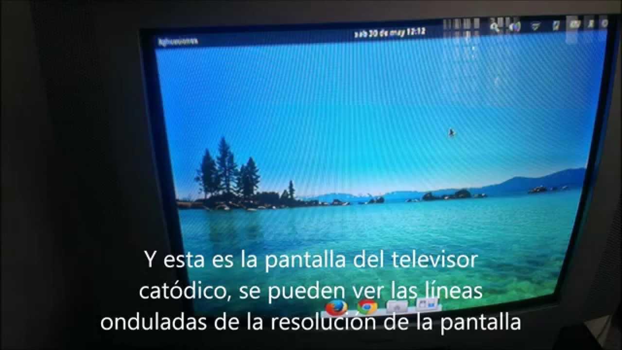 Como Conectar El Port 225 Til A Una Televisi 243 N Antigua Youtube