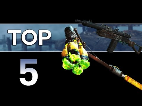 Fallout 4 - Top 5 Unique Far Harbor Weapons! (Far Harbor DLC) |