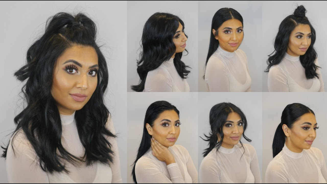 going out unwashed hairstyles - youtube