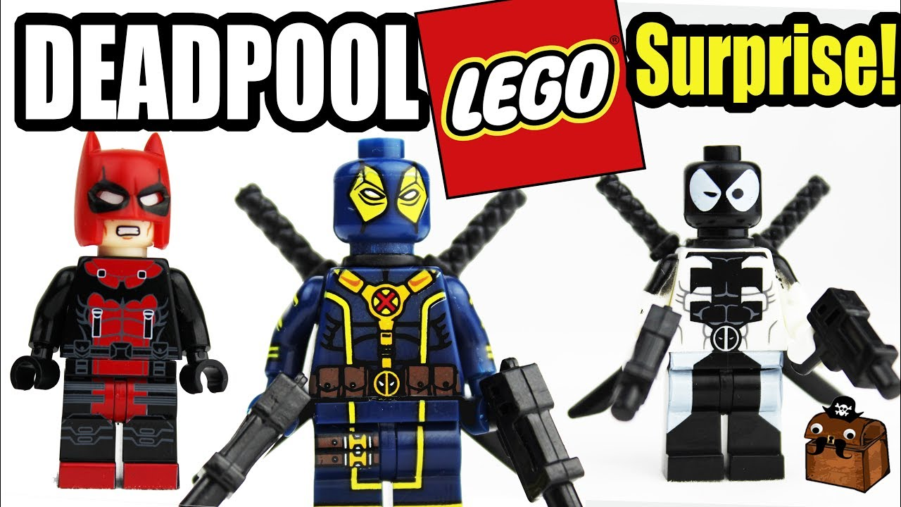 New Minifigure Marvel Deadpool 2 Villain Superhero Moc Lego US SELLER