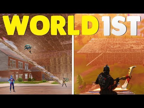 WORLD'S FIRST HUNGER GAMES MAP! (Fortnite Battle Royale Building)