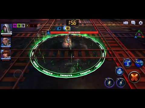T1 Ghost (Movie Uniform) Villain siege Test - Marvel Future Fight
