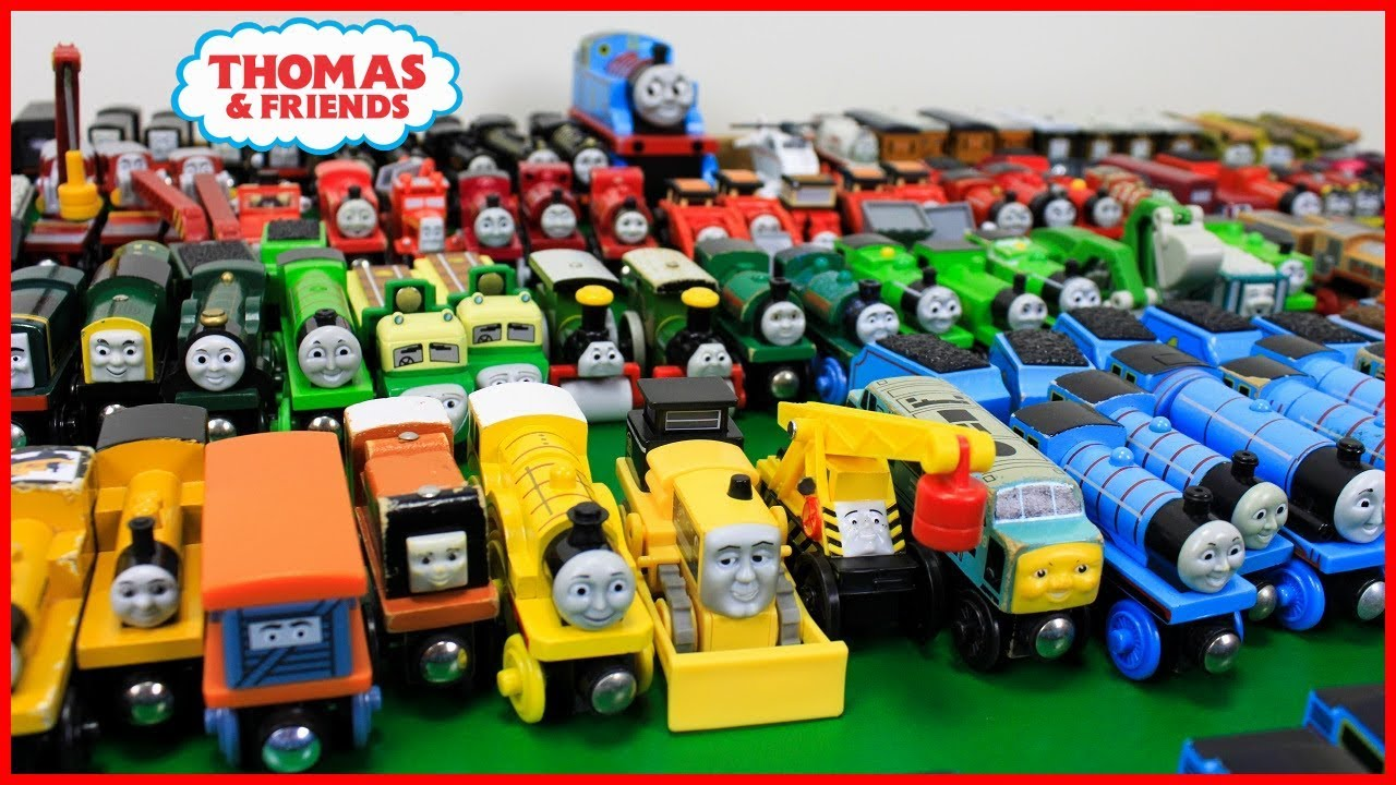 Thomas And Friends Biggest Wooden Railway Collection Fun Toy Trains For Kidsthomas Friends Toys