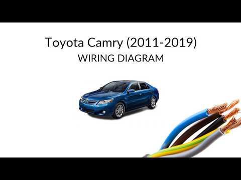 Toyota Camry XV50 (2011-2019) - wiring diagrams - YouTubeYouTube