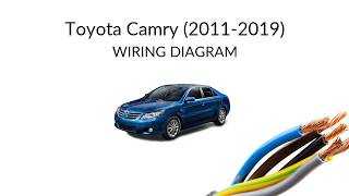 toyota camry xv50 (2011-2019) - wiring diagrams  youtube