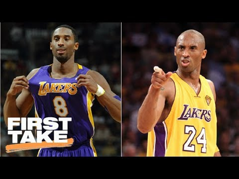 low priced 14bdb 4f098 Which Kobe Bryant was better: No. 8 or No. 24? | First Take | ESPN