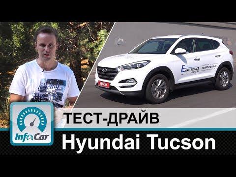 Hyundai Tucson тест драйв InfoCar.ua Тусан