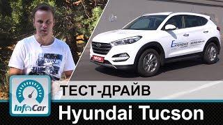 Hyundai Tucson - тест-драйв InfoCar.ua (Тусан)