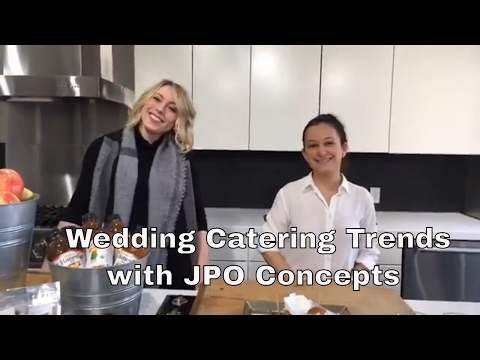 Wedding Tips, Tricks & Secrets - Wedding Catering Trends with JPO Concepts
