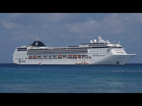 MSC Opera Cruise, April 5-12, 2016 ( Day 5 - Cayman islands)