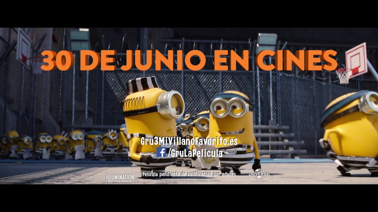 Gru 3 Mi Villano Favorito Spot 4 Hd Null Youtube