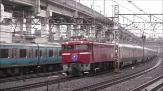 4月22日、上野~盛岡で団体列車「春のカシオペア紀行」が運転されたので...