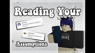 1K Subs Special: Reading Your Assumptions || Roblox