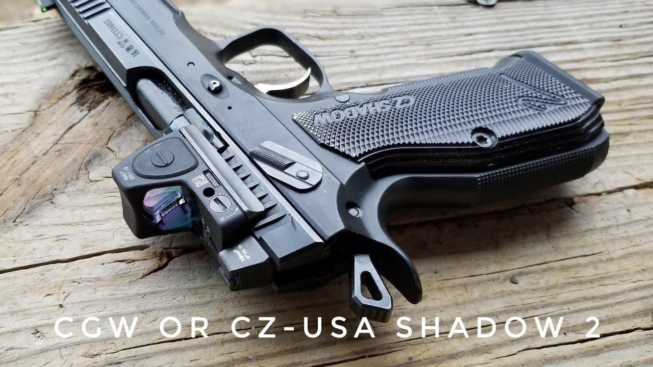 Cajunized Optic Ready CZ-USA SHADOW 2