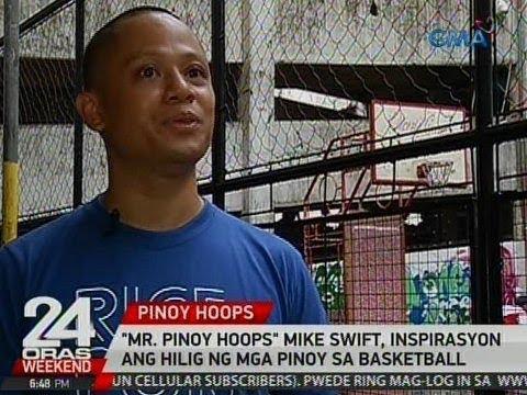 Download Youtube: 24 Oras: 'Mr. Pinoy Hoops' Mike Swift, inspirasyon ang hilig ng mga Pinoy sa basketball