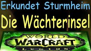 WoW - Die Wächterinsel - Erkundet Sturmheim   Watchman's Rock - Explore Stormheim