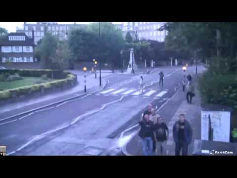 Beatles.ru @ Abbey Road crossing, London, UK 30.08.2012