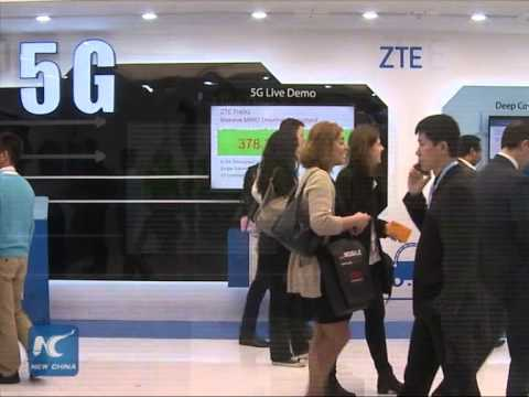Chinese companies strive to lead 5G tech development