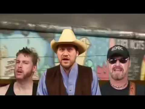 Hayseed Dixie - Holidays In the Sun video (Official)