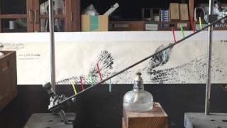 小学校理科四年生 ものの温まり方 斜めにした金属棒を熱はどのように伝...