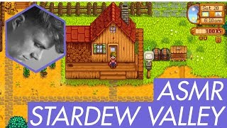 ASMR - Let's Play Stardew Valley - Male Whispering & Relaxing Gaming