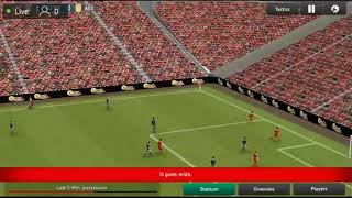 football manager game live stream
