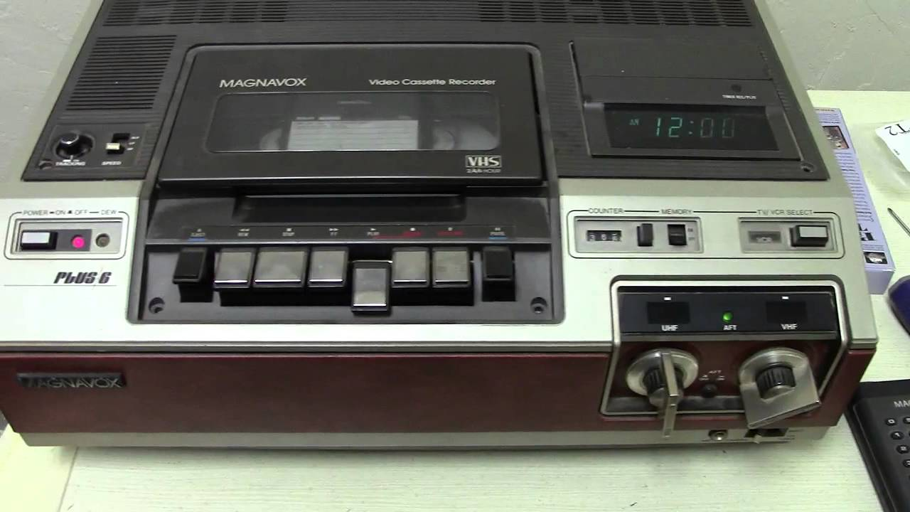 1980 Magnavox VCR Re-assembled