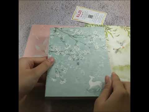 Sổ tay kích thước A5 phong cách Nhật Bản