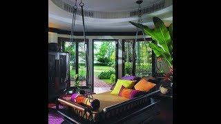 Tropical inspired living rooms