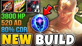 *NEW* ITEMS MAKE LEE SIN AN ABSOLUTE MONSTER! (520 AD 3800 HP) - League of Legends