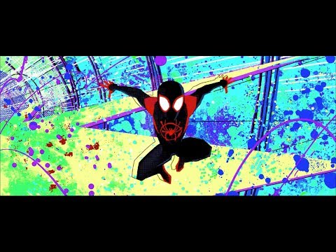 Super collider fight 1/2 (Spider-Man Into the Spider-Verse)