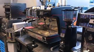 распаковка и настройка кофемолки Eureka Atom