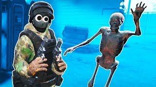 Fighting the Zombie Horde in VR! - Pavlov VR Gameplay - VR HTC Vive