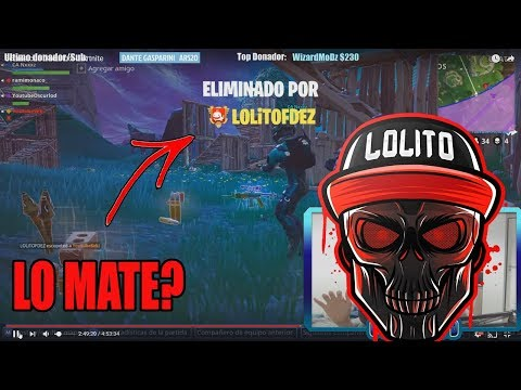 Mate a LOLiTOFDEZ en Fortnite? (Stream Highlights Oscurlod)